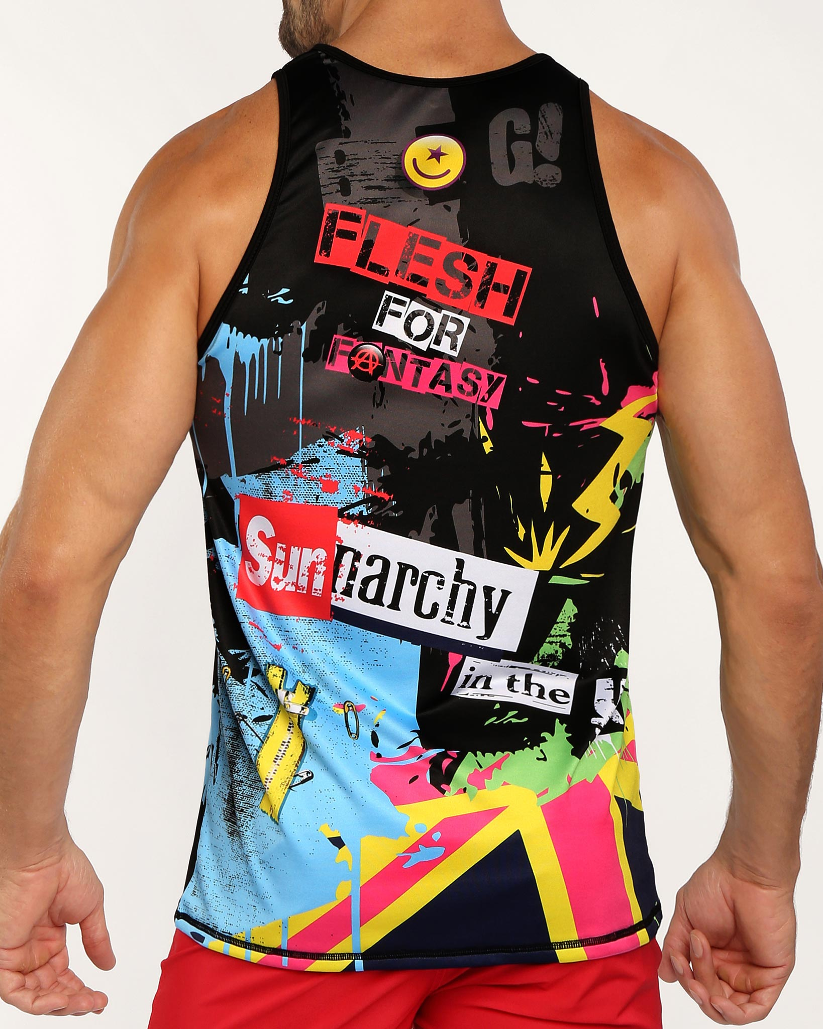 SUNNARCHY Tank Top Bang Clothes Men Tank Tops Beach Gear