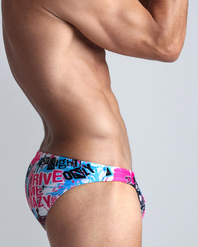 Simply Irresistible Swim Mini Brief Bang Clothes Men Swimwear Swimsuits lateral right side