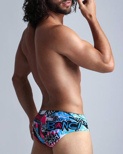 Simply Irresistible SwimBrief Bang Clothes Men Swimwear Swimsuits rear right