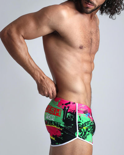 Sunnarchy Swim Shorts Bang Clothes Men Swimwear Swimsuits right lateral view