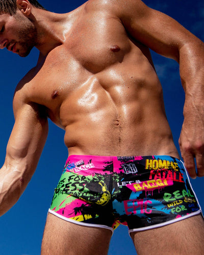 Sunnarchy Swim Shorts Bang Clothes Men Swimwear Swimsuits editorial