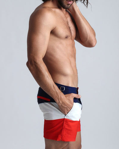 TRIO Tailored Shorts Bang Clothes Men Swimwear Swimsuits side view