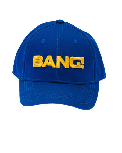 The BaNG! Blue Cap Bang Clothes Beach Nightlife Gym Gear For Men Accessories