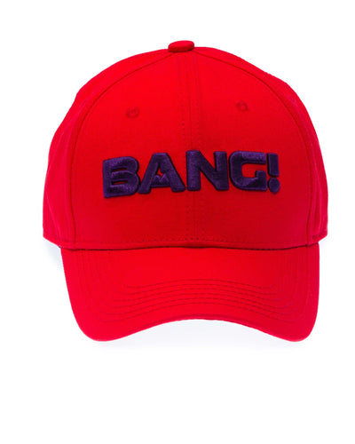 The BaNG! Red Cap Bang Clothes Beach Nightlife Gym Gear For Men Accessories