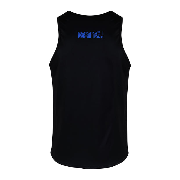 Back view of a sexy men's tank top by the Bang! Clothes brand of men&