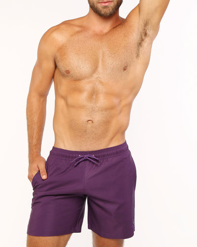 ULTRA VIOLET Resort Shorts Bang Clothes Men Swimwear Swimsuits front view