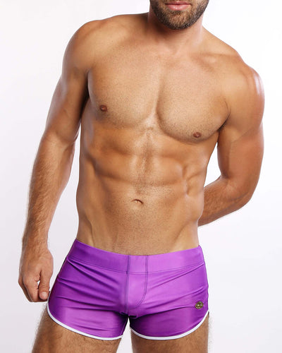 Ultra Violet Swim Shorts Bang Clothes Men Swimwear Swimsuits