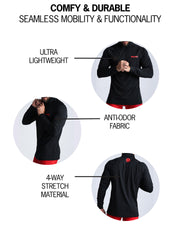 WORKOUT SHIRT - Panther Black