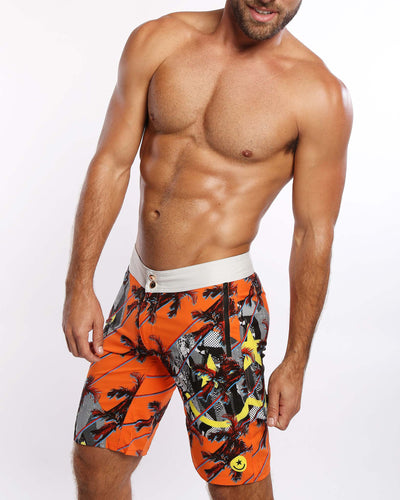 Warm Breeze Flex Boardshorts Bang Clothes Men Swimwear Swimsuits