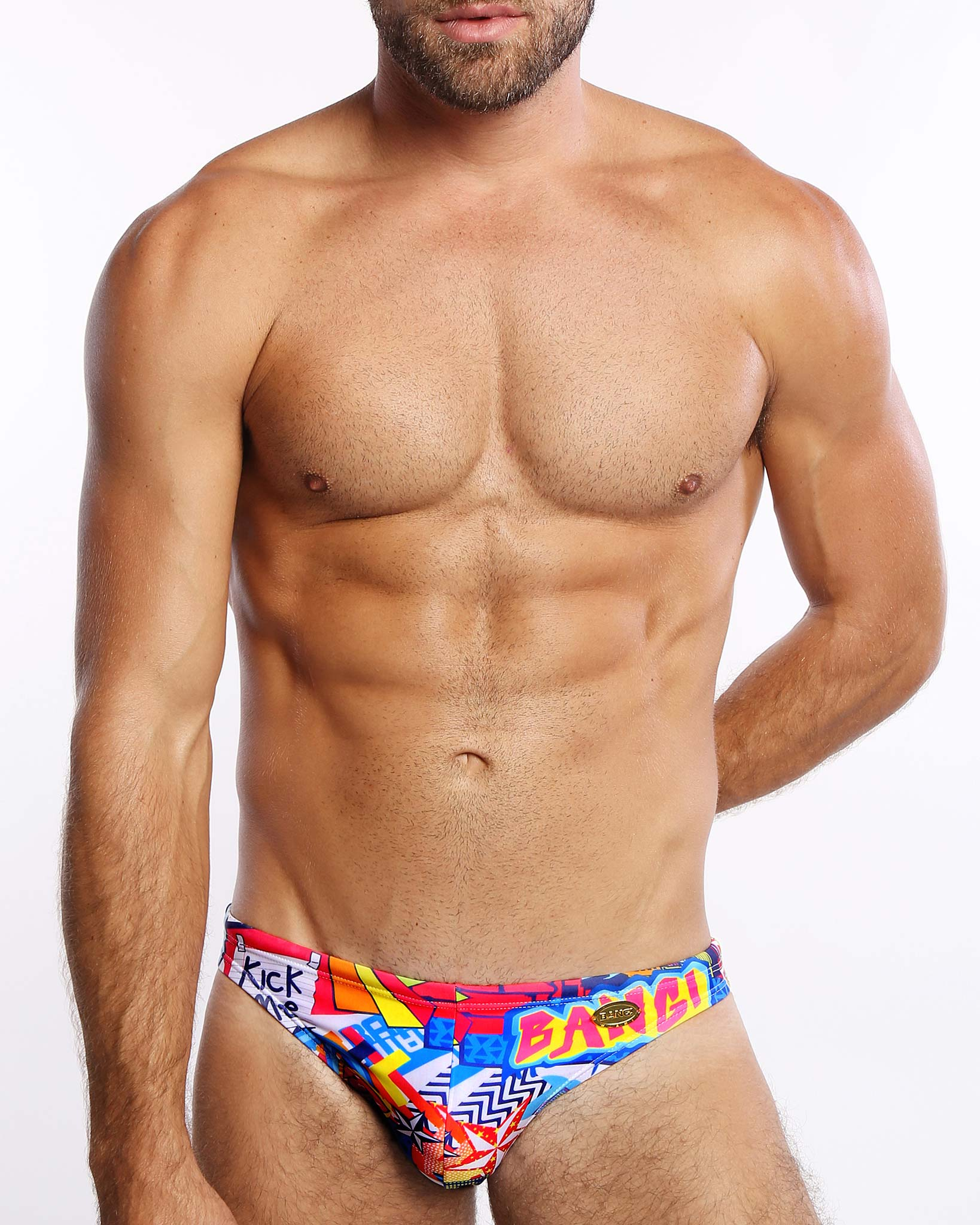 We Can Do It! Swim Mini Brief Bang Clothes Men Swimwear Swimsuits