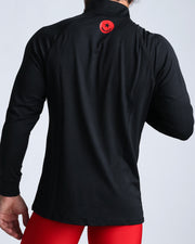 Workout Shirt Black Bang Clothes Beach Nightlife Gym Gear For Men Accessories in black with smiley logo in red