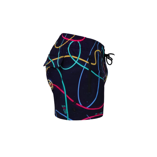 Right view of a sexy men's beach shorts by the Bang! Clothes brand of men&