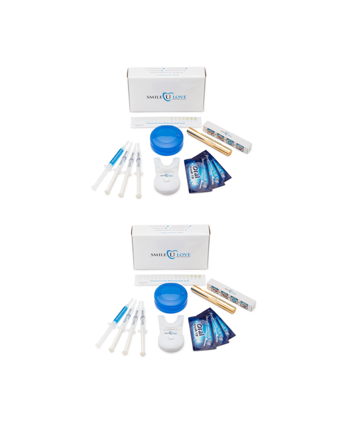 Couples Teeth Whitening Kit with with Gold or Silver Pen