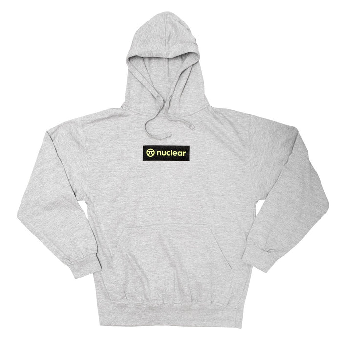 Logo Hood - Athletic Grey