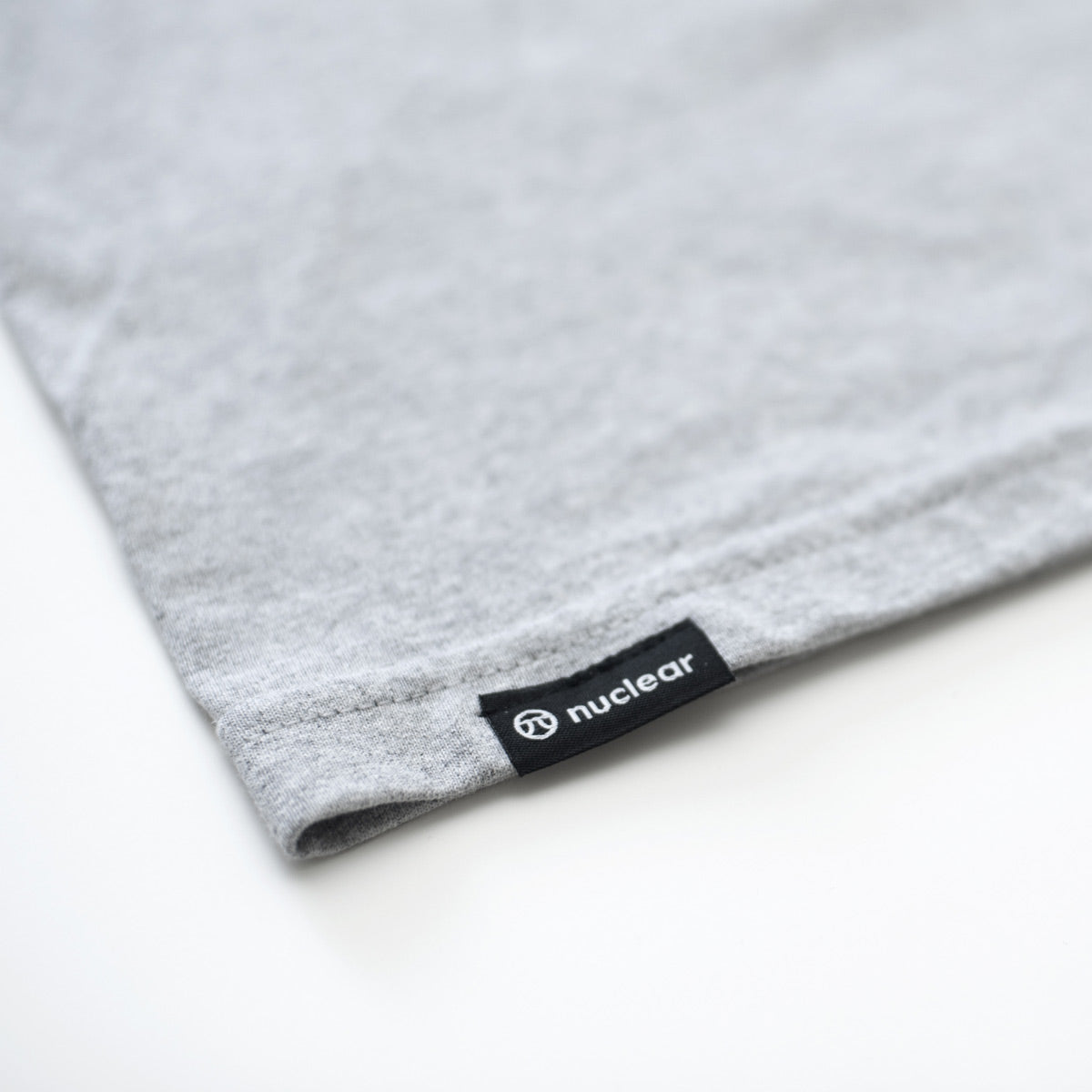 Long Sleeve Logo Tee - Athletic Grey