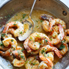 shrimp being sauteed
