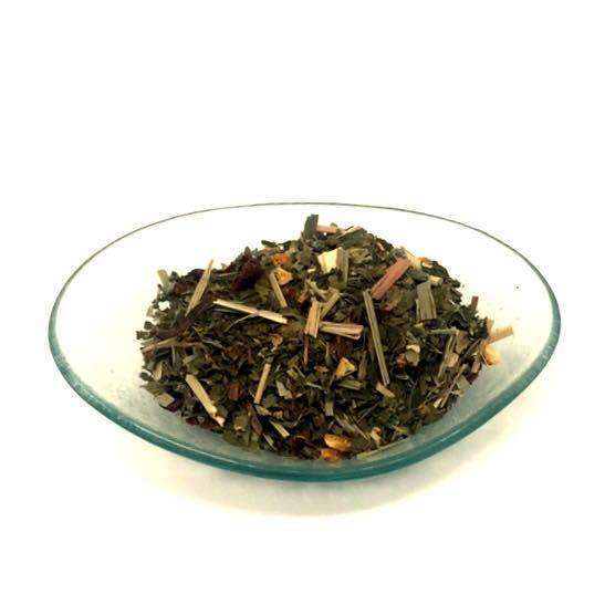The Olive Groove:Organic Razzlemint Tea Blend