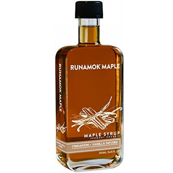 Cinnamon-Vanilla Infused Maple Syrup