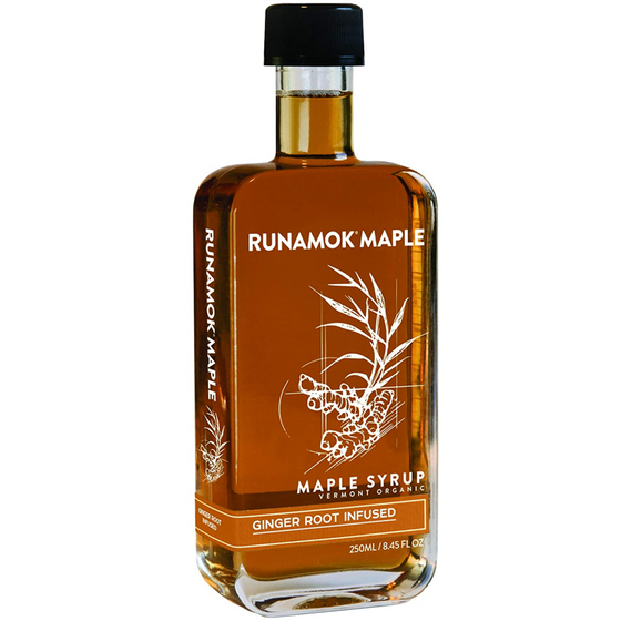 Ginger Infused Maple Syrup