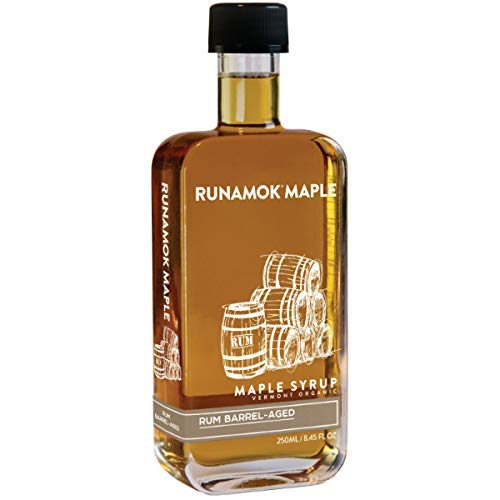 Rum Barrel-Aged Maple Syrup