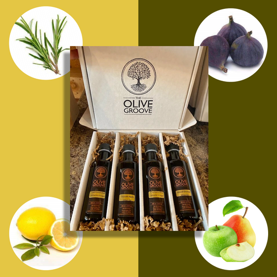 Gourmet Guru Sampler: Rosemary+Meyer Lemon+Pear Apple+Mission Fig