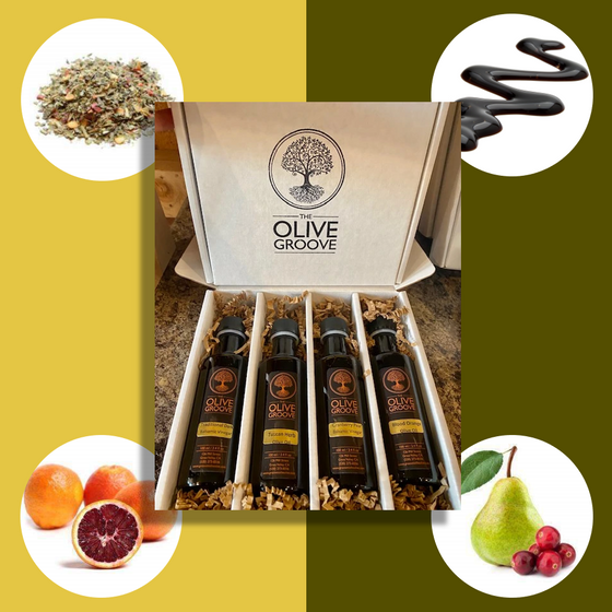 Classic Favorites Sampler: Tuscan Herb+Blood Orange+Traditional+Cranberry Pear