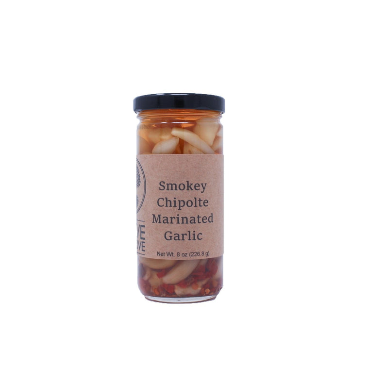 The Olive Groove:Smokey Chipotle Marinated Garlic