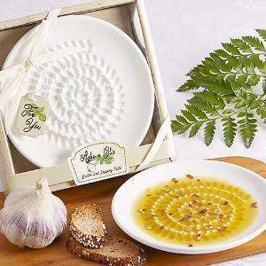 The Olive Groove:Grater Dish:garlic grater