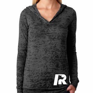 Iron Rhino® Ladies Burnout Hoodie