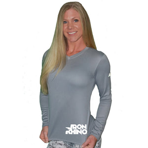 Iron Rhino® Ladies New Balance® Dry Fit Long Sleeve