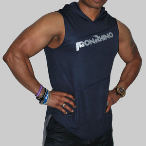 Iron Rhino® Men's Poly Sleeveless Hoodie