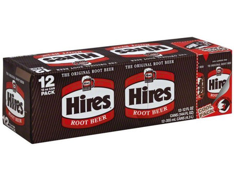 Hires 12 Can Case