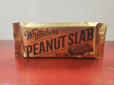 Whittaker's Original Peanut Slab