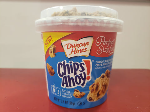 Chips Ahoy Duncan Hines Cake Cup