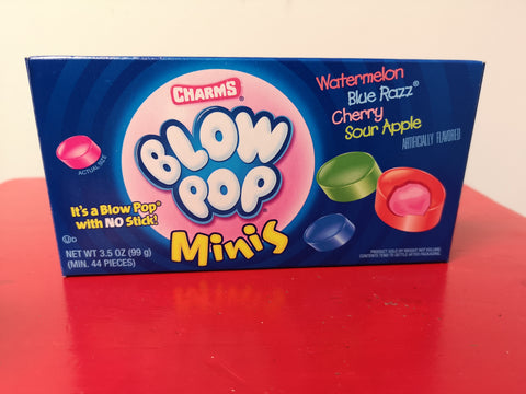 Blow Pop Minis Theatre Box