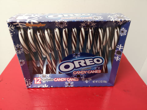 Oreo Flavoured Candy Canes