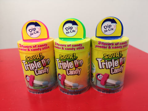 Dip-N-Lik - Sour Triple Candy