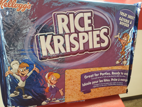 Rice Krispies - Treat Sheet