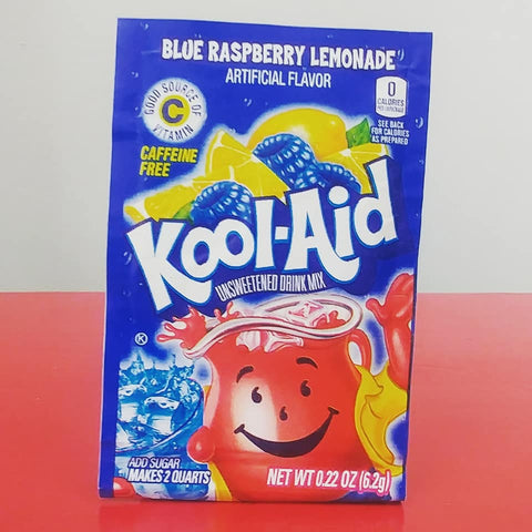 Kool-Aid Packet - Blue Raspberry Lemonade