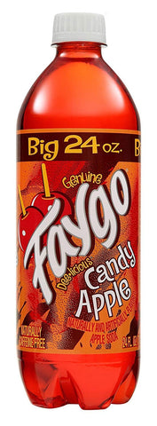Faygo 24oz Candy Apple 24 Plastic Bottle Case