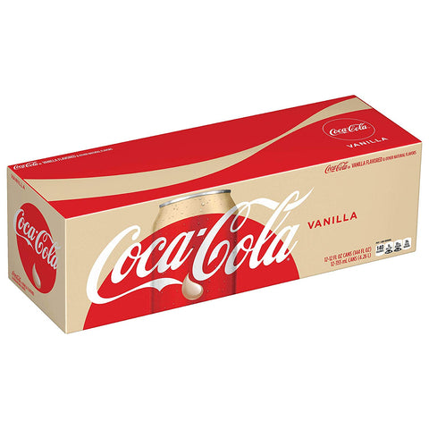 Vanilla Coke 12 Can Case