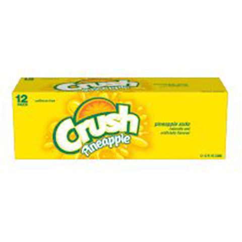 Pineapple Crush USA 12 Can Case