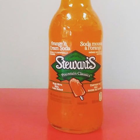 Stewart's Orange & Cream Soda
