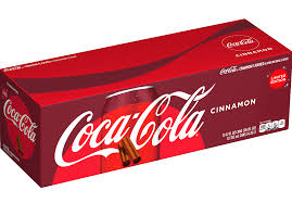 Cinnamon Coke 12 Can Case