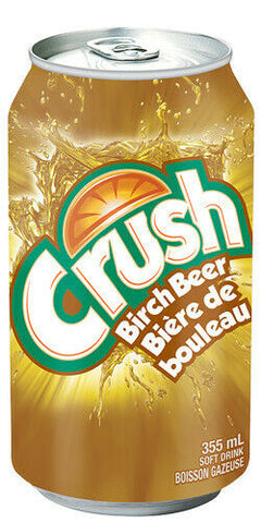 Crush Birch Beer 24 Can Case