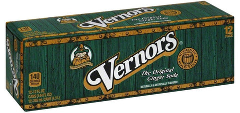 Vernors Ginger Ale 12 Can Case