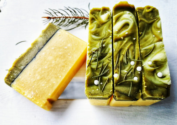 Whimsical Balsam Fir & Sweet Orange Goat Milk Soap