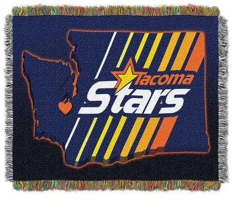 TACOMA STARS THROW BLANKET