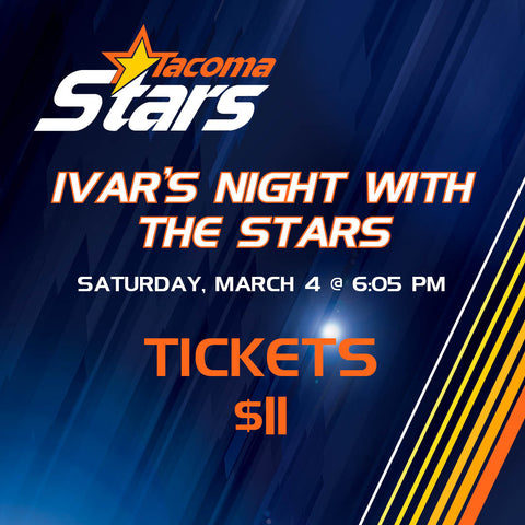 Ivar's Night With The Stars Tickets