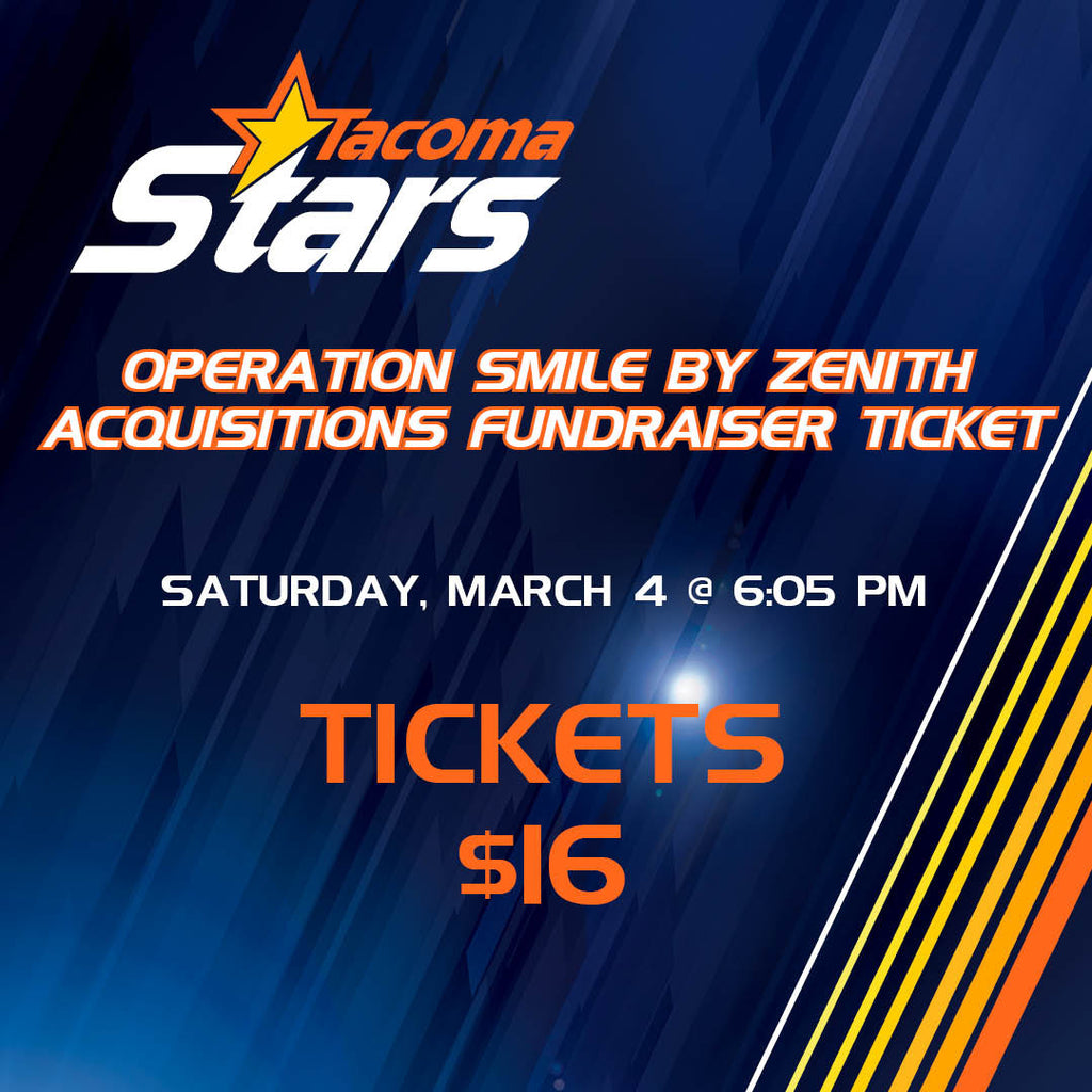 Operation Smile by Zenith Acquisitions Fundraiser Ticket